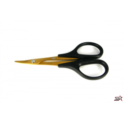 MR33 GOLD BODY CURVED SCISSOR