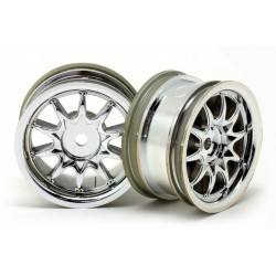 LLANTA RH-1220 Mini 10-Spoke Normal Chrome Plating