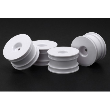 RH-1300W LLANTA Mini Dish Wheel White 4 pieces