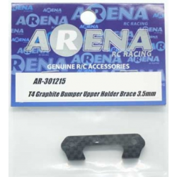 ARENA 301215 T4 Graphite Bumper Upper Holder Brace