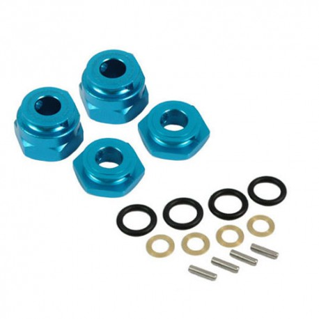 YEAH RACING ALUMINIUM WHEEL WASHER SET TRF501X DB0