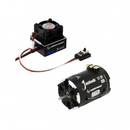 HOBBYWING COMBO XR10 60a RPM CONT.+MOTOR 17.5 G2.1