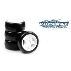 SET DE 4 RUEDAS VOLANTE MINI 24R