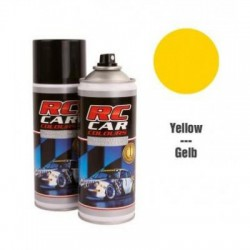 RC CAR COLOURS LEXAN SPRAY 150ML BONI YELLOY