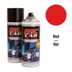 RC Car Colours Lexan Spray 400ml - RED