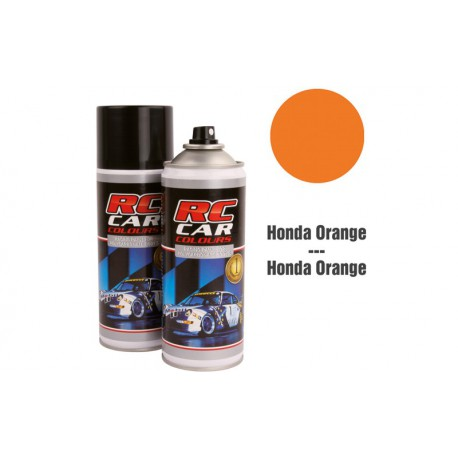 RC Car Colours Lexan Spray 400ml - HONDA ORANGE