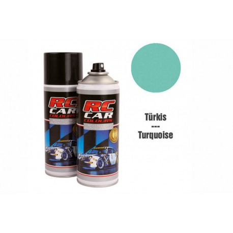 RC Car Colours Lexan Spray 400ml - BLUE GREEN