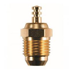 OS glowplug RP7 turbo medium, Gold-Edition