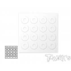 T-Work´s 1/10 Body Post Protectors 6 x 20mm (16)