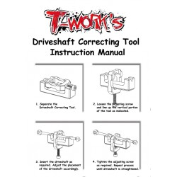 T-Work´s Driveshaft Correcting Tool(Para 50mm o +)