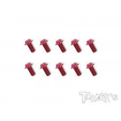 T-Work´s 7075-T6 3x6mm Hex. Socket UFO Head Screw