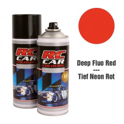 RC Car Colours Lexan Spray 150ml - Fluo Deep Red