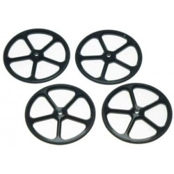 Yeah Racing Aluminum SetUp Wheels for 1:10 RC Tour