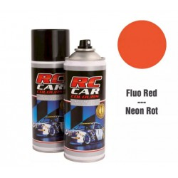 RC Car Colours Lexan Spray 150ml - Fluo Red