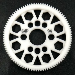 Competition Delrin Spur Gear 64P 94T For 1/10 On R