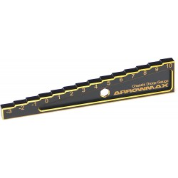 Arrowmax Chassis Droop Gauge -3 to 10mm for 1/10 C