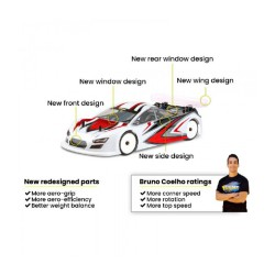 Xtreme 1/10 Twister SPECIALE Touring Car Clear Bod